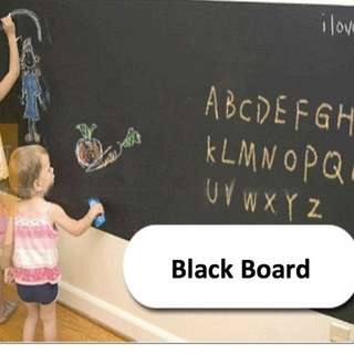 Blackboard Sticker - 200cm x 45cm