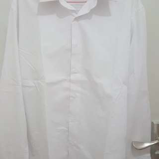 Kemeja putih pria The executive slim fit size 16.5 (L)