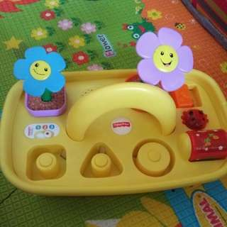 Fisher price flower pot