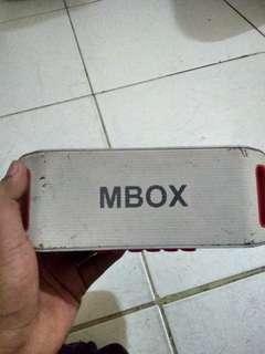 Speaker MBOX
