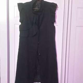 Black Smart Casual Coat