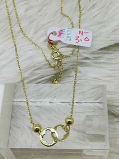Pawnable!!! 18k necklace sd gold