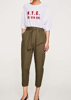 Zara paperbag trousers small