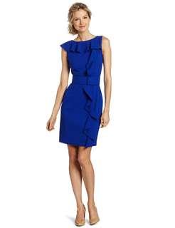 Calvin Klein | Sheath Dress with Ruffle Detail
