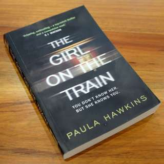 The Girl On The Train Trade Paperback Book