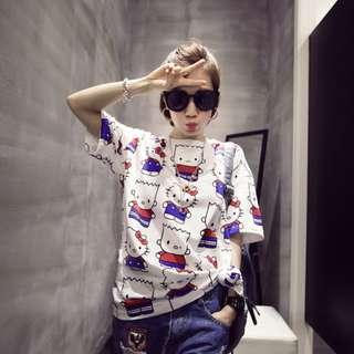 Hello Kitty Top Tee Tshirt