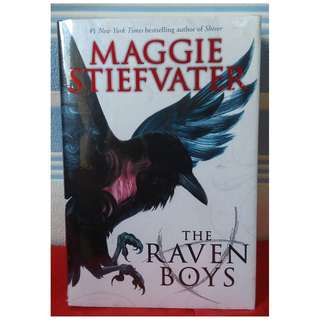 Raven Cycle by Maggie Stievfater