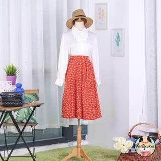 🍿 Vintage Midi Skirt VS1343