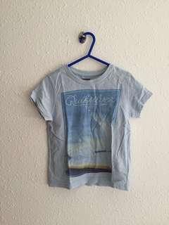 Boys quiksilver shirt