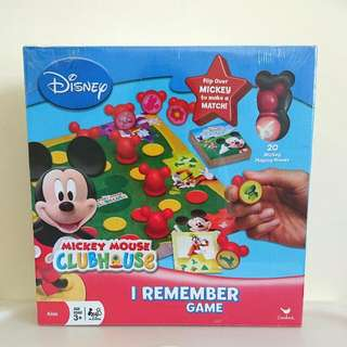 Mickey Mouse Clubhouse I Remember Game