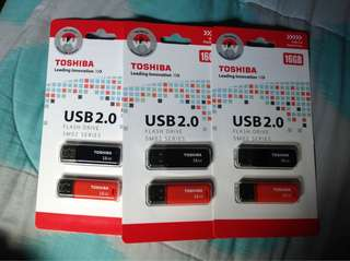 16Gb Toshiba USBs