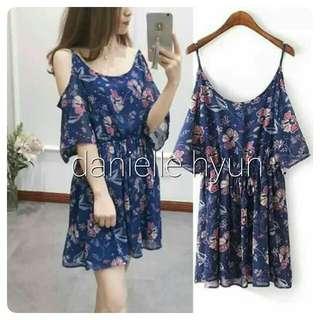 🐢Cold shoulder dress