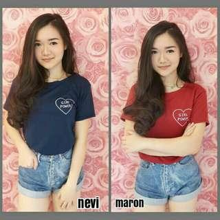 Is tshirt love girl mini
