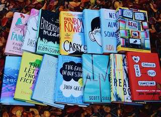 Young Adult Books Pre-Order :)