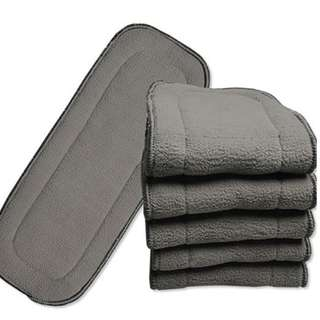5-Layer Bamboo Charcoal Insert - Cloth Diaper