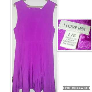 Forever 21 purple dress