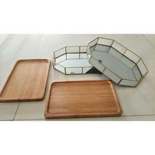 Trays for Dessert Table- Rental