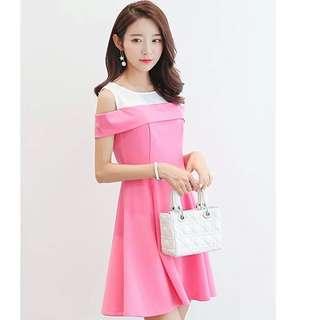 🌸[ PO ] Spring Off Shoulder Dress