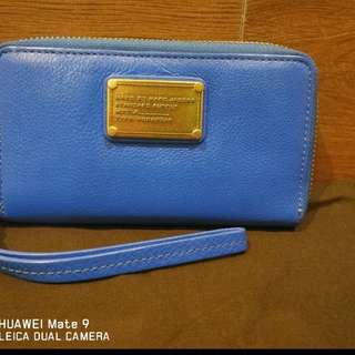 Marc by Marc Jacobs full leather compact wallet.