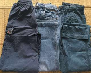 Assorted Boys trousers