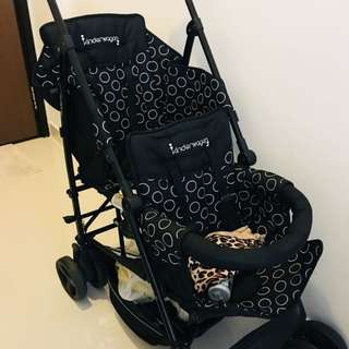Kinderwagon Double Stroller