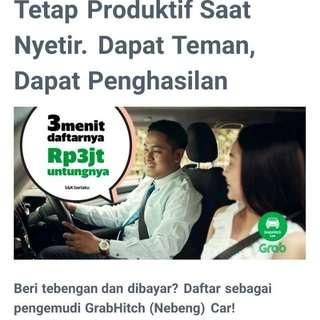 Pendaftaran GrabHitch Car