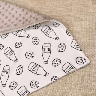 Milk and Cookies Baby Blanket
