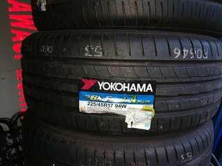 Yokohama Tyre 225/45/17