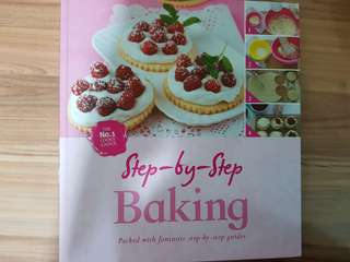 Step by step baking book