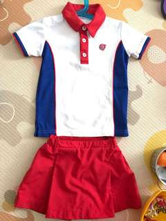 PCF Uniform for girl Sparkle Tot
