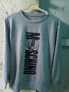 Sweatshirt moschino light grey