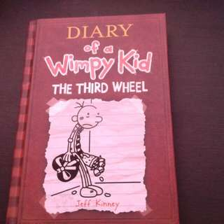 Diary of a Wimpy Kid--The Third Wheel by Jeff Kinney (Hard bound)