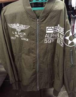 Bomber fake alpha industri Size M kondisi 90%