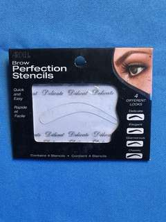 Ardell brow perfection stencils (4 diff. looks)