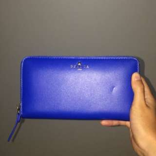 Ghanda blue wallet
