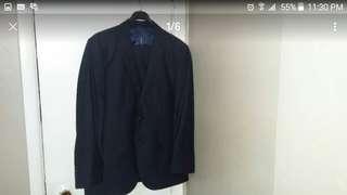 """New Suit men, color dark blue,size 40"""",Turkish cloth"""