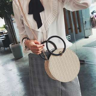 Rm38👑Rattan Sling Bag #letgo4raya