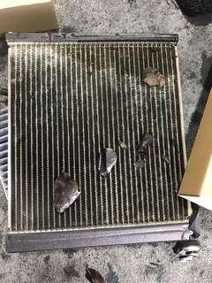 Car air con Toyota Axio /Allion / Premio replace cooling coil