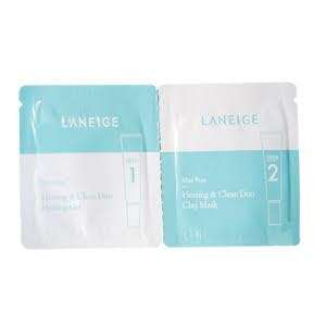 Laneige Mini Pore Heating & Clean Duo Clay Mask - Sample Sachet