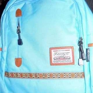 Selling backpack blue