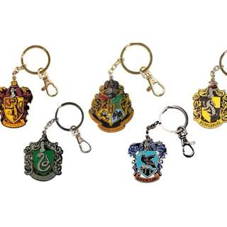 Harry Potter Hogwarts House Crests Keychain