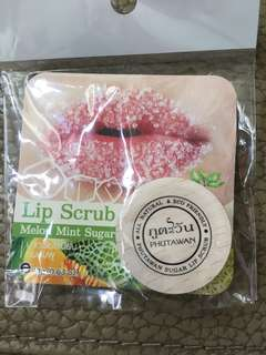 Phutawan Melon Mint Sugar Lip Scrub