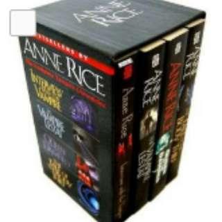 Anne Rice Collection Boxset