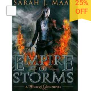 Throne of Glass 5: Empire of Storms