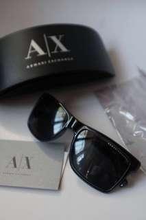 Armani Exchange (A X) black sunglasses