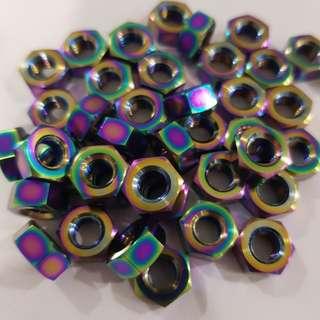 M6 titanium nut