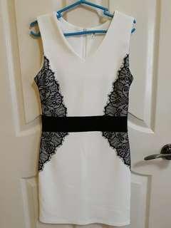 White Formal/Semi-Formal Dress (Kashieca)