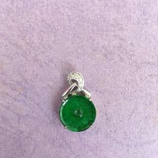 Jade with 18K Gold