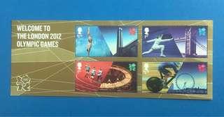 2012倫敦奧運會小全張上品