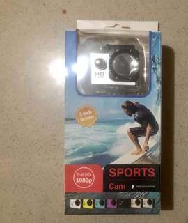 High Definition Sports Cam (Water Proof)